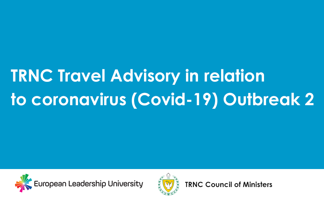 TRNC Travel Advisory in relation to coronavirus (Covid-19) Outbreak 2